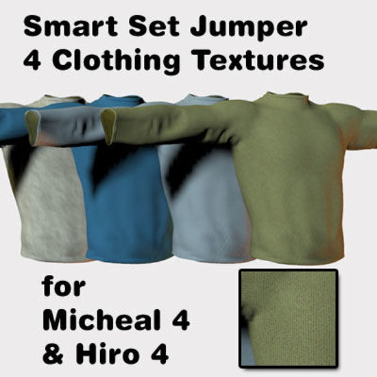 Picture of Smart set jumper Clothing Textures for Hiro 4