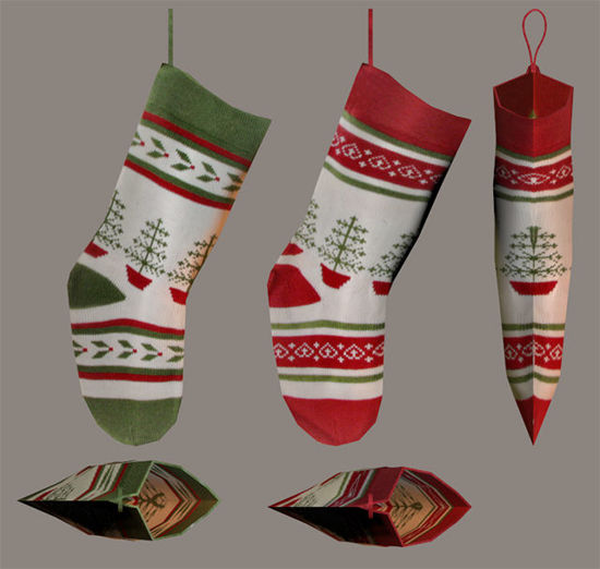 Picture of Christmas Stocking Models