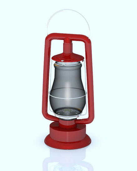 Picture of Oil Lantern Model - Poser / DAZ Studio Format