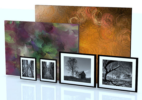 Picture of Framed Photos and Canvas Painting Models - Poser and DAZ Studio Format