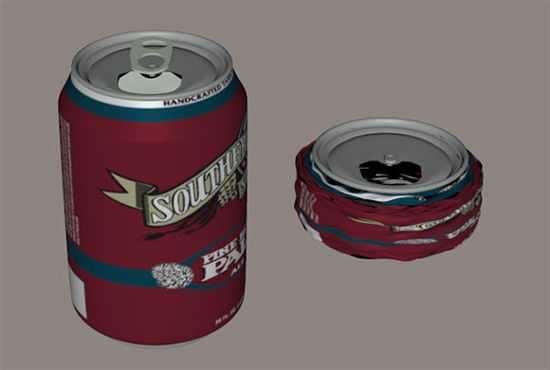 Picture of Morphing Aluminum Can Prop