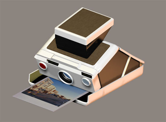 Picture of Polaroid Instant Camera Prop