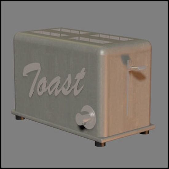 Picture of Kitchen Toaster Prop