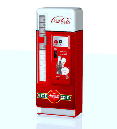 Picture of Antique Soda Machine Model with Movements