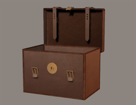 Picture of Victorian Travel Case with Morphs Model - VictorianTravelCase