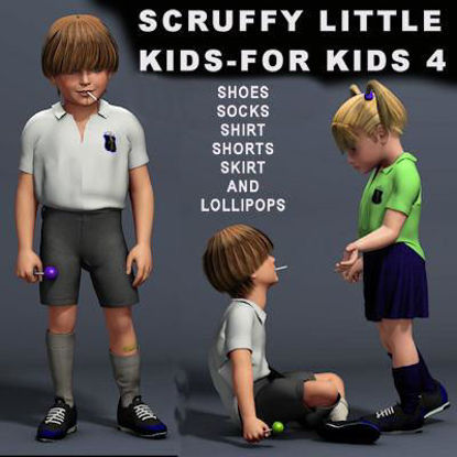 Picture of Scruffy little kids for Kids 4