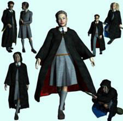 Picture of School Wizard for Luke and Laura - schoolandwizardPT