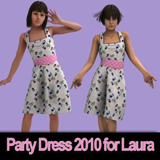 Picture of Party Dress 2010 for Laura
