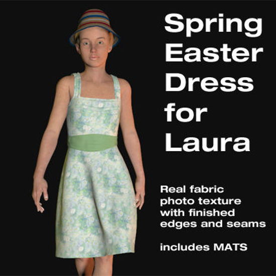 Picture of Spring Easter Dress for Laura
