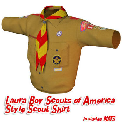 Picture of Laura Boy Scouts of America Style Scout Shirt