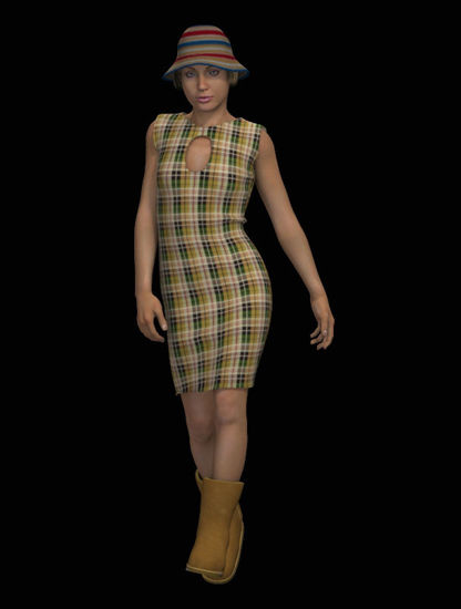 Picture of Retro 50's Dress for DAZ Laura