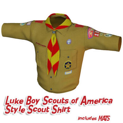 Picture of Boy Scouts of America Style Scout Shirt for Luke