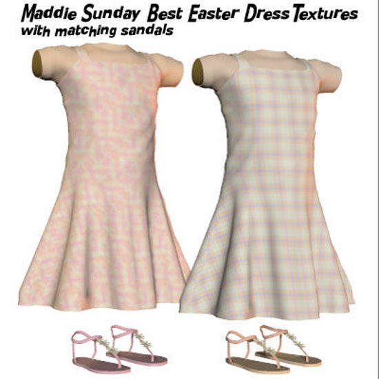 Picture of Sunday Best Easter Dress Textures for Maddie