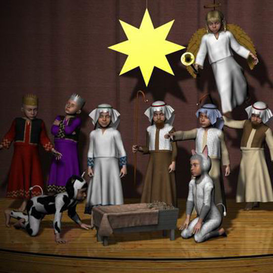 Picture of Nativity set