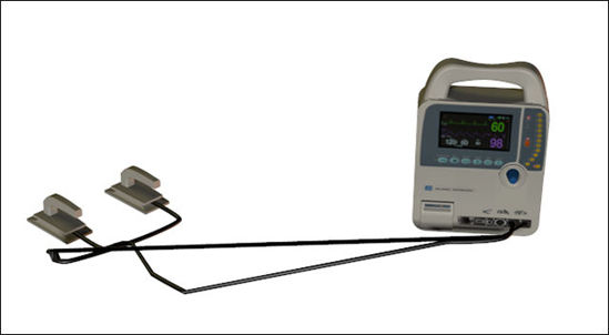 Picture of Heart Defibrillator Medical Device Model