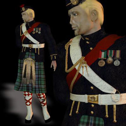 Picture of Scottish Outfit
