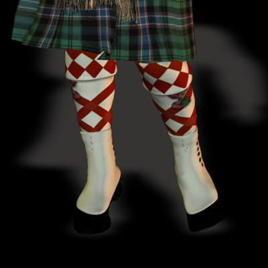 Picture of Scottish Shoes with Putties