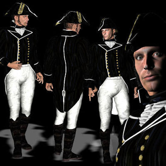 Picture of Mike's 1805 Navy Lieutenant full outfit -