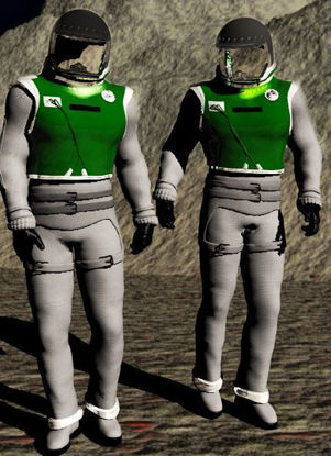 Picture of Space suit figure