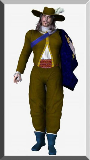 Picture of Formal nobleman for Mike 1 or 2 - m2noblefixedobj