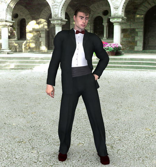 Picture of Michael 3's dinner suit