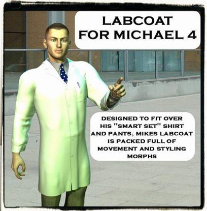 Picture of Labcoat for Michael 4