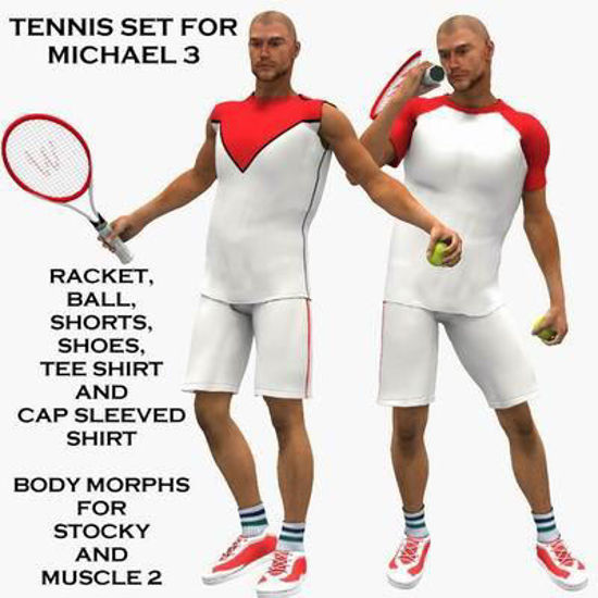 Picture of Tennis for Michael 3