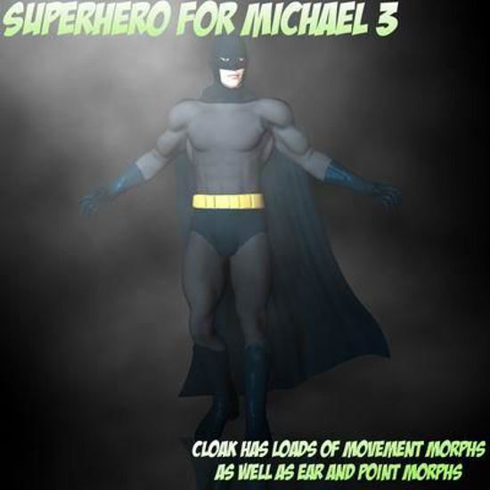 Picture of Superhero for Michael 3