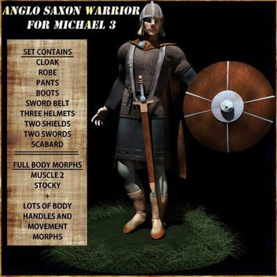 Picture of Anglo Saxon Warrior for Michael 3