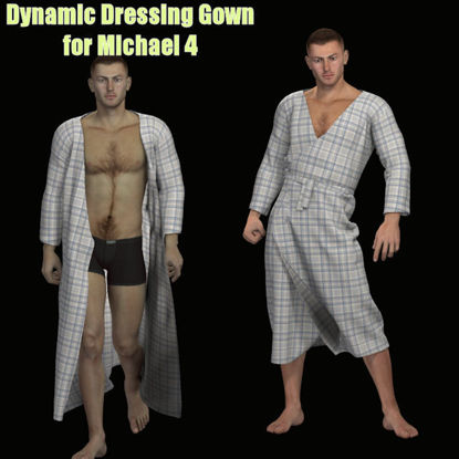 Picture of Dynamic Dressing Gown for Michael 4