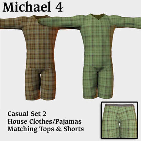 Picture of Casual Set 2 - House Clothes - Pajamas