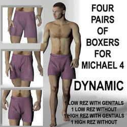 Dynamic Boxers 4 Pack for Michael 4