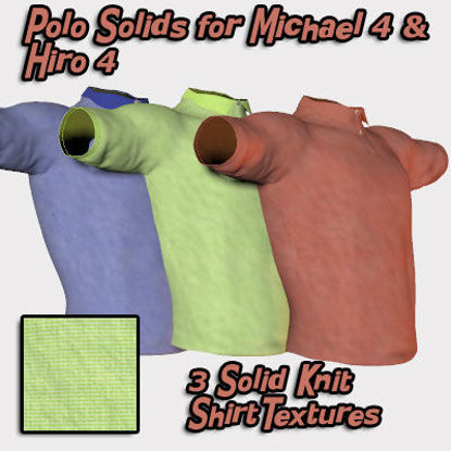Picture of Smart Set Polo Solids for Michael 4 and Hiro 4