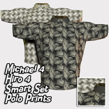 Picture of Polo Print Textures for Michael 4 and Hiro 4 Smart Set