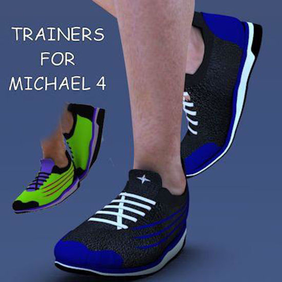 Picture of A pair of trainers for Michael 4