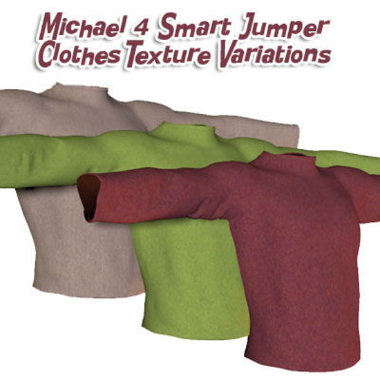 Picture of Michael 4 Smart Jumper Clothes Textures 1
