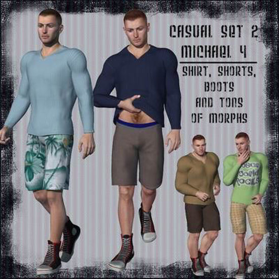 Picture of Casual set 2 for Michael 4 - M4Casual2BBootFIX
