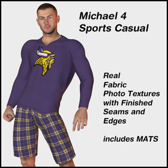 Picture of Sports Casual Outfit For Michael 4