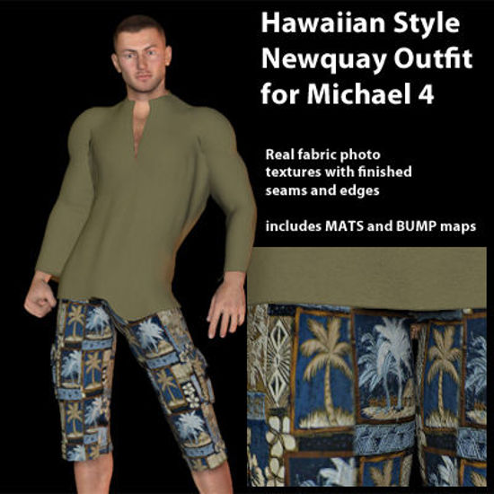 Picture of Hawaiian Newquay Outfit for Michael 4