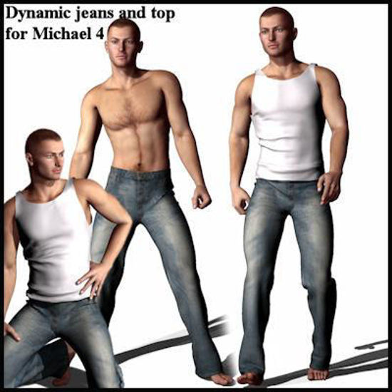 Picture of Dynamic Jeans and top for Michael 4