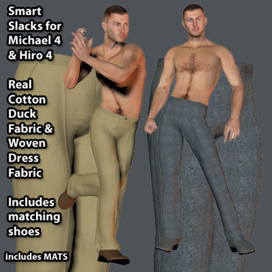 Picture of Smart Slacks Textures for Michael 4 and Hiro 4