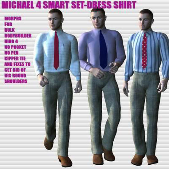Picture of Smart set dress shirt for Michael 4 and Hiro 4