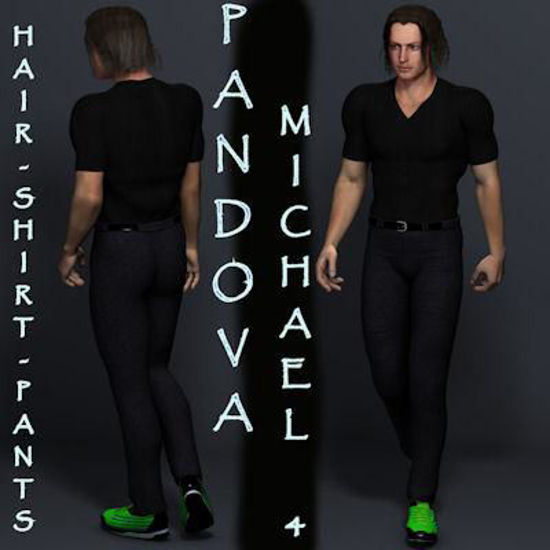 Picture of Padova Pants and Boiler Suit Boots (Matching) for DAZ Michael 4