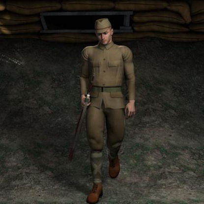 Picture of Japanese Private WW2 for Michael 4