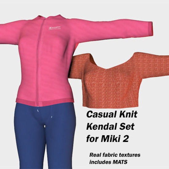 Picture of Casual Knit Kendal Set for Miki 2