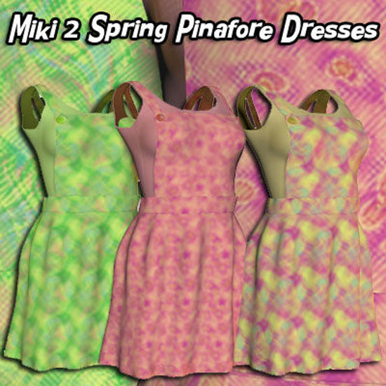 Picture of Spring Pinafore Dresses for Miki 2