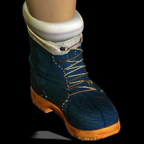 Picture of Winter boots for DAZ pre-schooler Pom Pom hat on this page