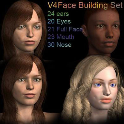 Picture of Face Building set