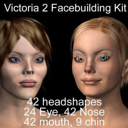 Picture of Victoria 2 face building set