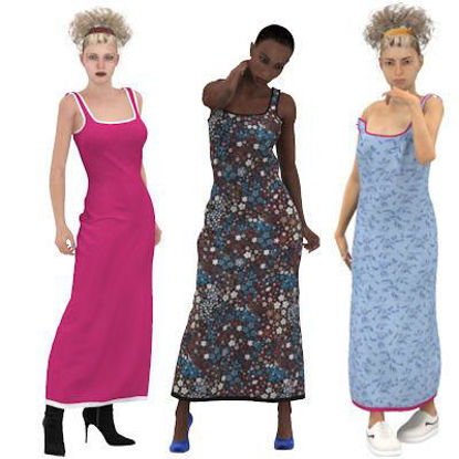 Picture of Maxi Dress for Multiple Figures